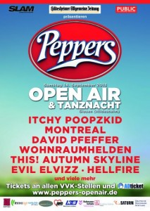 Peppers Open Air & Tanznacht