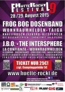 Huette Rockt Festival 2015