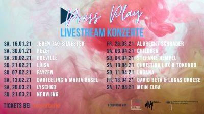 Livestream Konzerte